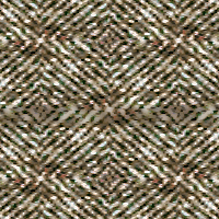 Tweed with 100% blur, darken blend mode