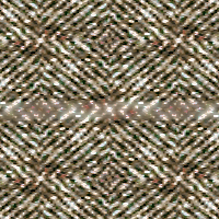 Tweed with 100% blur, lighten blend mode