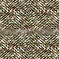 Tweed with 100% blur, normal blend mode