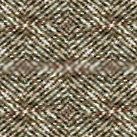 Tweed with 50% blur, normal blend mode